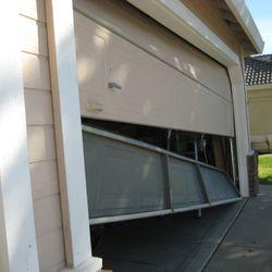 Superb Photo Of Norman Garage Door Repair Norman, OK, United States. Off  Track