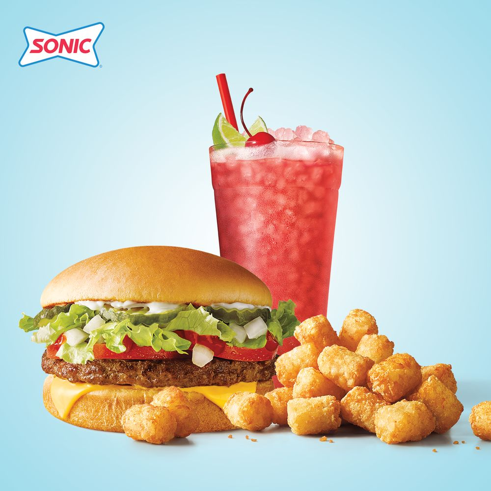 Sonic Drive-In: 820 N Fourche Ave, PERRYVILLE, AR