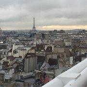 Le Georges - Paris, France. View overlooking Paris and the Eiffel