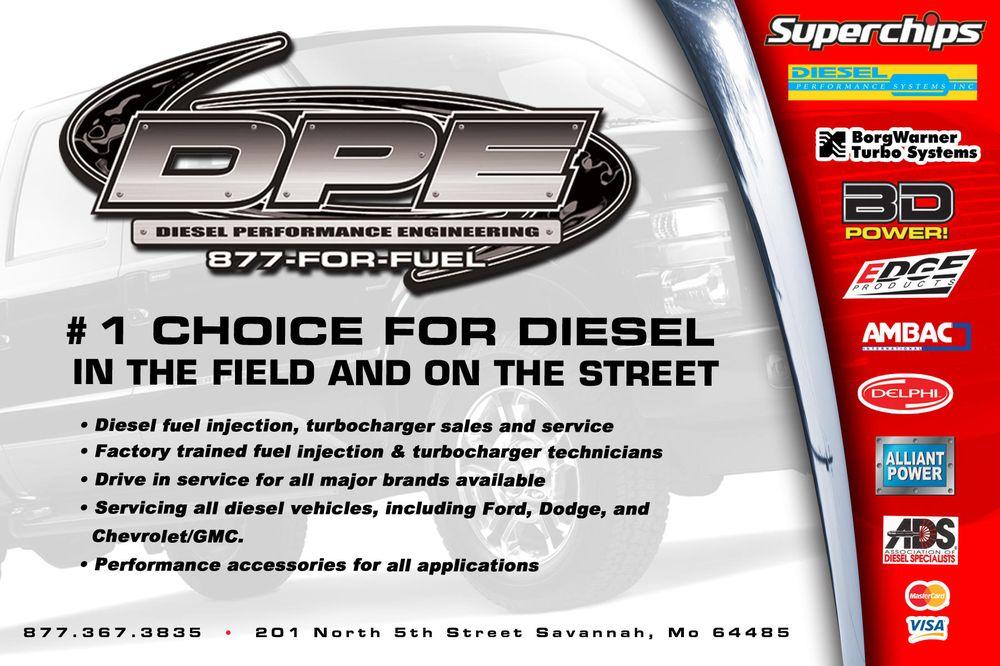 Diesel Performance Engineering: 201 N 5th St, Savannah, MO