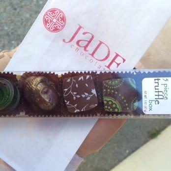 photo of jade chocolates san francisco ca united states 5 piece box san francisco office 5