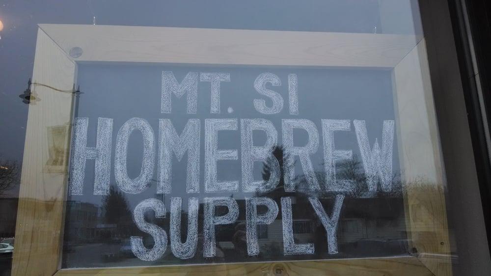 Mt. Si Homebrew Supply: 8032 Falls Ave SE, Snoqualmie, WA