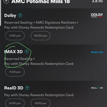 Amc movie potomac mills va