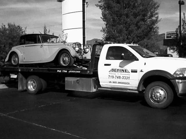 Alpine Towing & Recovery: 38163 Hwy 24, Lake George, CO