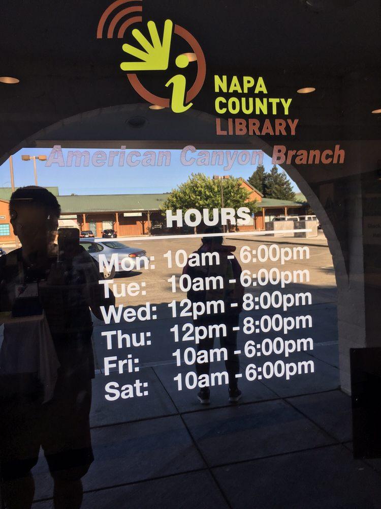 American Canyon Library: 300 Crawford Way, American Canyon, CA