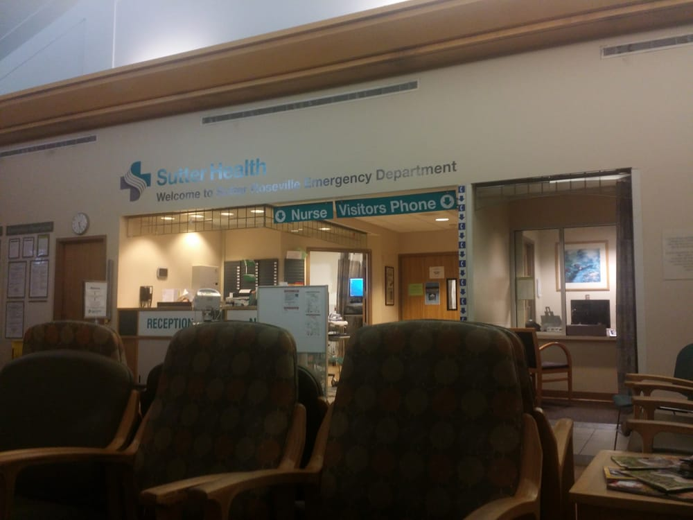 Roseville Sutter Emergency Room