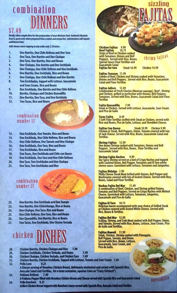 El Toro Mexican Restaurant: 607 W Shawntel Smith Blvd, Muldrow, OK