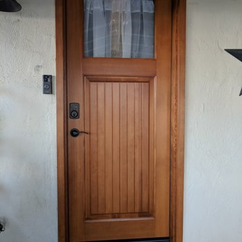 Photo of Peninsula Doors Inc - Los Gatos CA United States. Rear door & Peninsula Doors Inc - Door Sales/Installation - 15466 Los Gatos ...