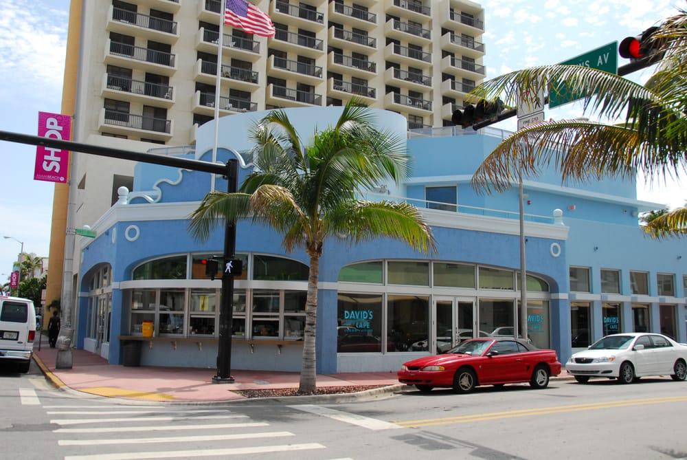 David S Cafe  Miami Beach