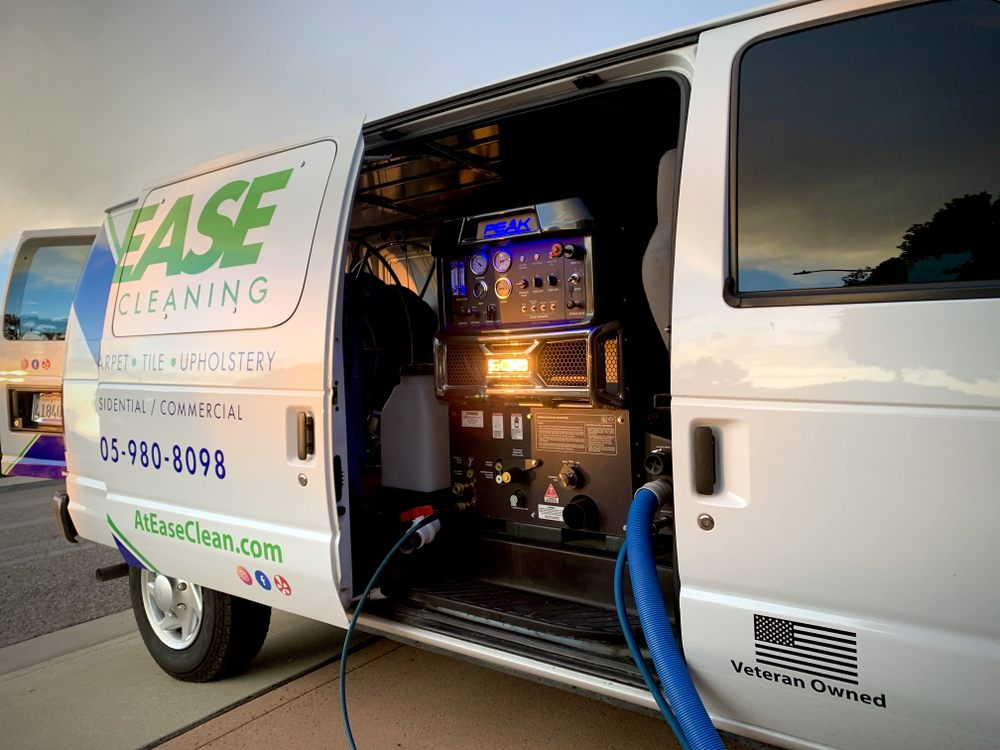 At Ease Carpet, Tile and Upholstery Cleaning