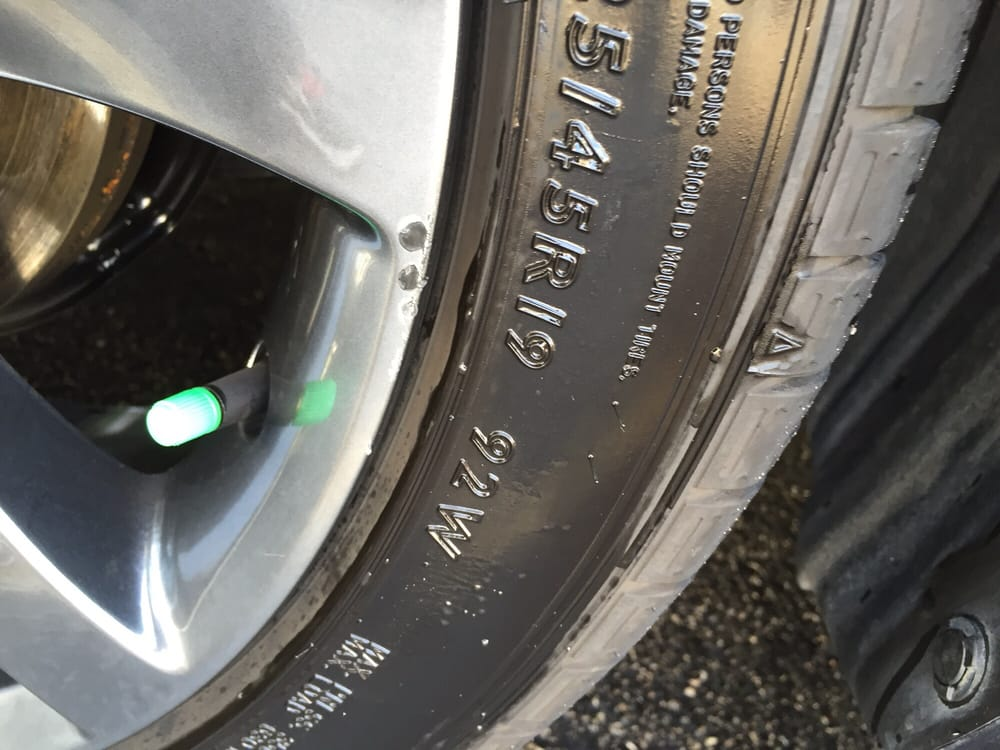 Damages To Glass Tyre