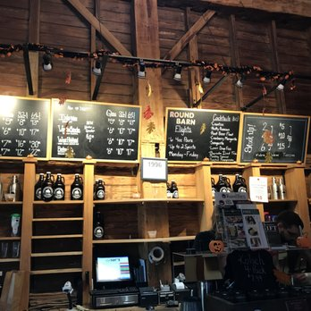 free run and round barn tasting room