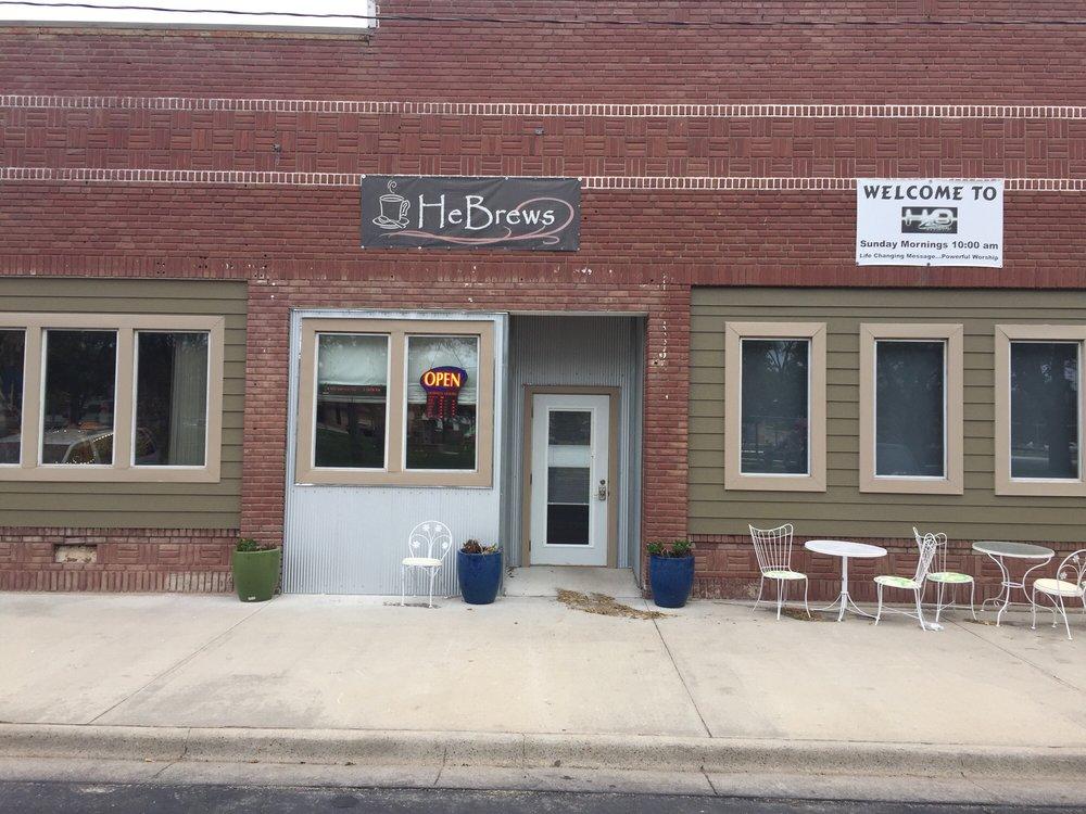 HeBrews Cafe: 120 S Market St, Glen Elder, KS