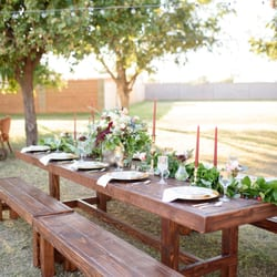 Photo Of Scottsdale Farm Tables   Gilbert, AZ, United States. Rustic Wooden  Table ...
