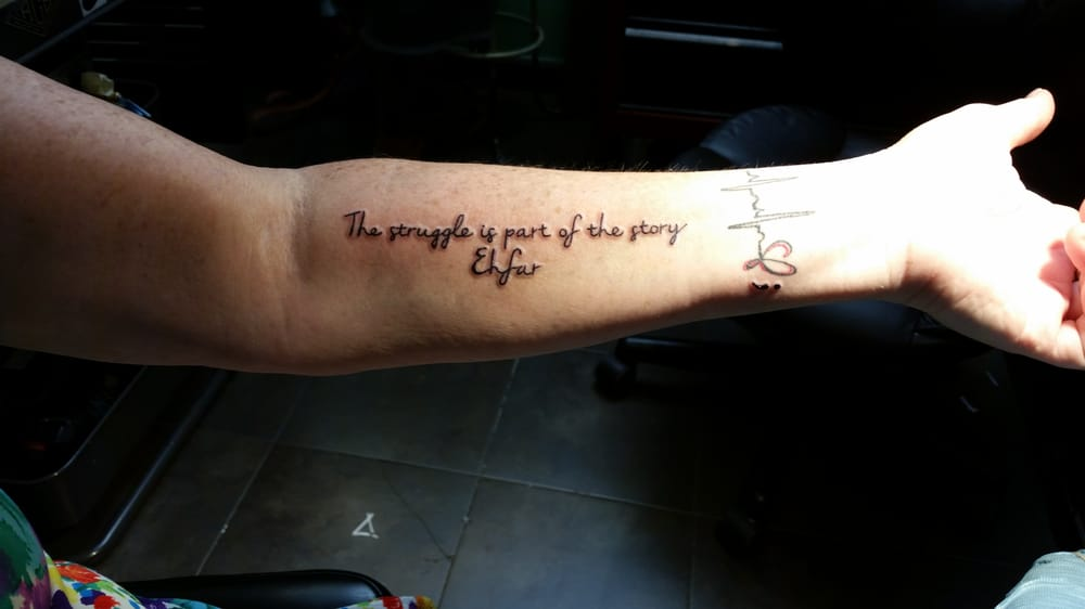 The struggle is part of the story ehfar everything happens for a photo of lucky drive tattoo parlour san rafael ca united states the urmus Image collections