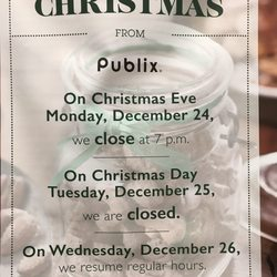 Publix Christmas Hours 2019 Publix   111 104th Ave N, Treasure Island, FL   2019 All You Need