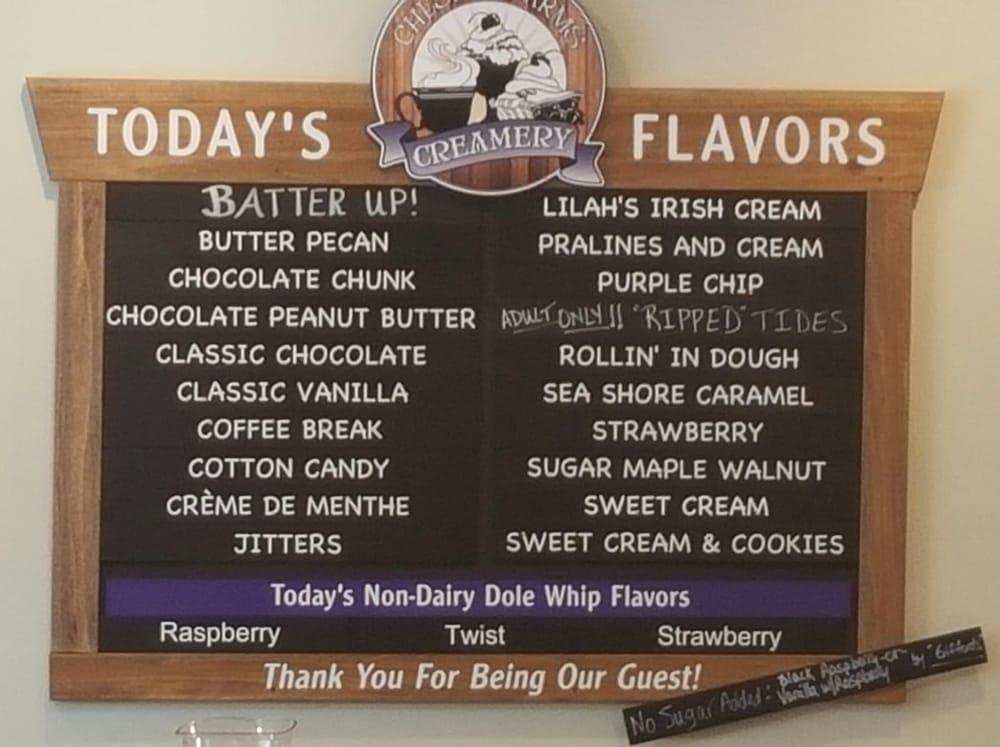 Ice cream flavor created to capture region's flair