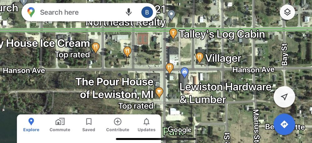 Villager Restaurant: 2935 Jenson St, Lewiston, MI