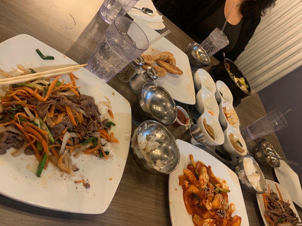 Food from Kui Korean BBQ