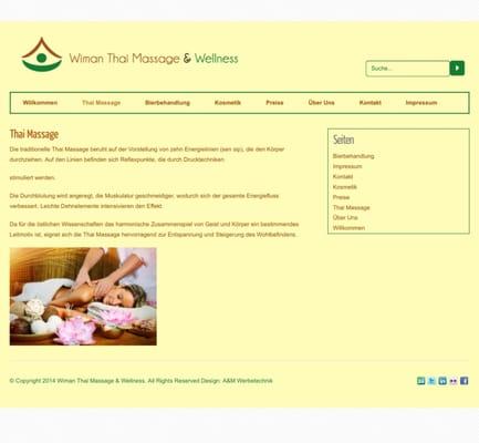 wellness massagen gießen