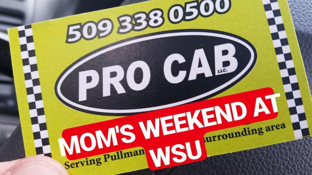 Pro Cab: 110 NW Stadium Way, Pullman, WA