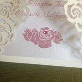Photo Of A Alpha Wedding Invitation Co