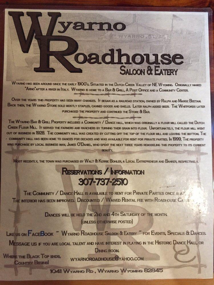 Wyarno Bar: 1041 Wyarno Rd, Sheridan, WY