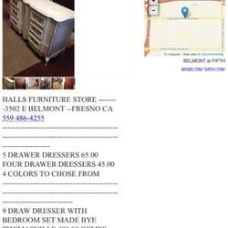 Halls FurnitureMattresses3502 E Belmont Ave Fresno CA