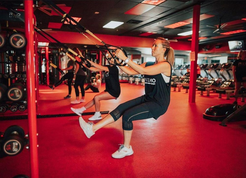 Red Effect Infrared Fitness