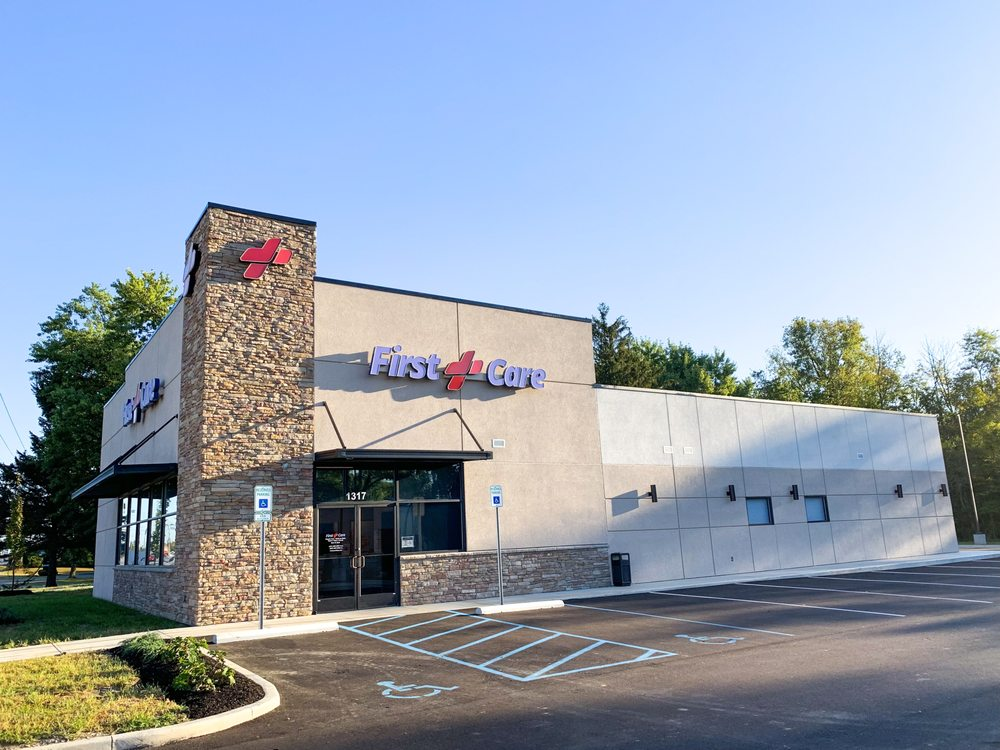 First Care Clinics - Greenfield: 1317 N State St, Greenfield, IN