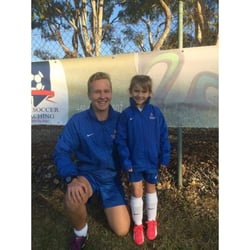 how to become a soccer coach in australia