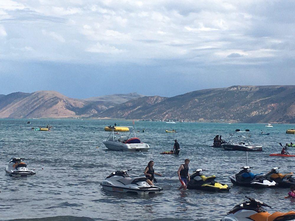 Rendezvous Beach Boat Rental: 1153 W 1220th N, Laketown, UT