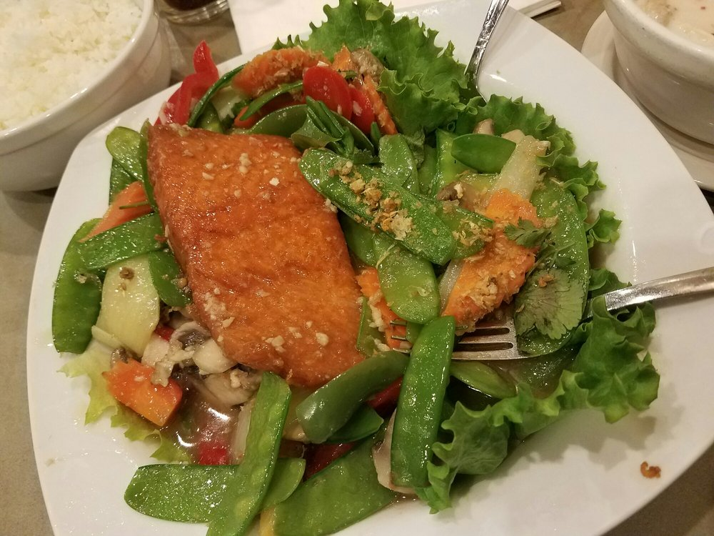 Grilled Salmon Panang Recipe — Dishmaps