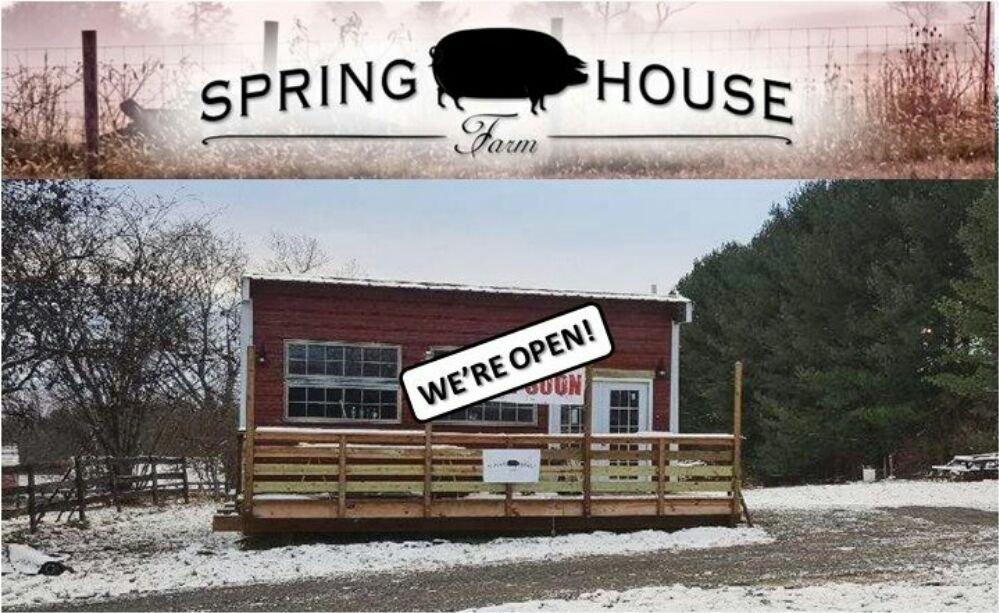 Spring House Farm Store: 16848 Hamilton Station Rd, Hamilton, VA
