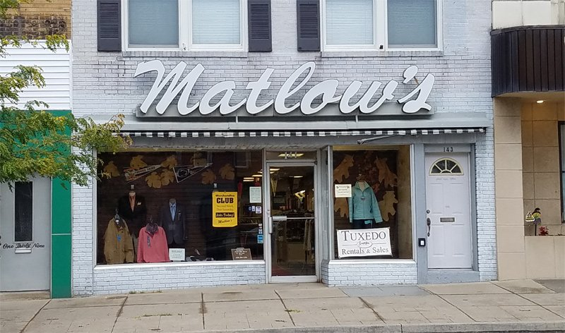 Matlow's: 141 S Oak St, Mount Carmel, PA