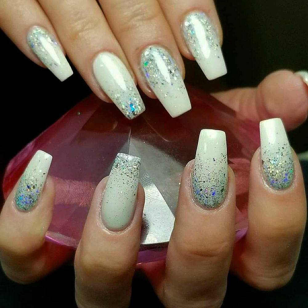Nexgen Nails with Patinum Chrome and Galaxy Hologram Ombre - Yelp