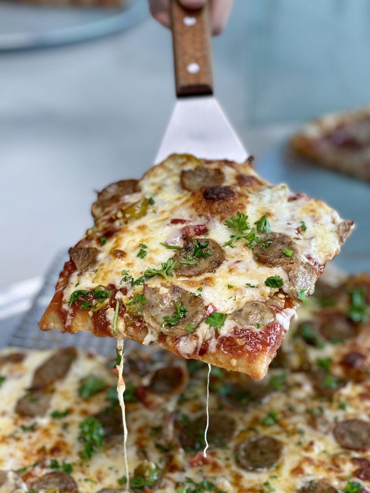 Mike's New York Pizzeria: 5035 W Slauson Ave, Los Angeles, CA