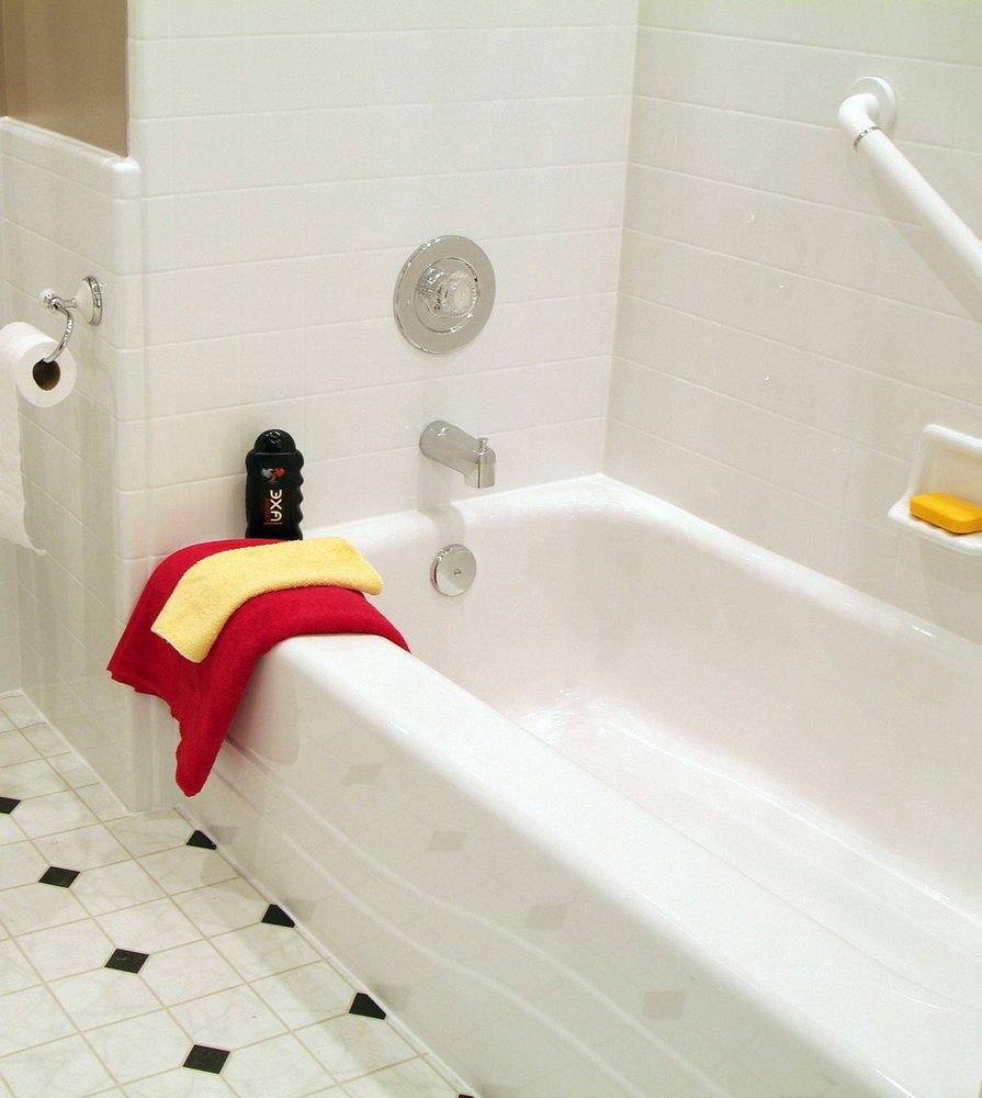 Bathtub bath replacement bath liner bath refinishing yelp for Bathtub replacement liner