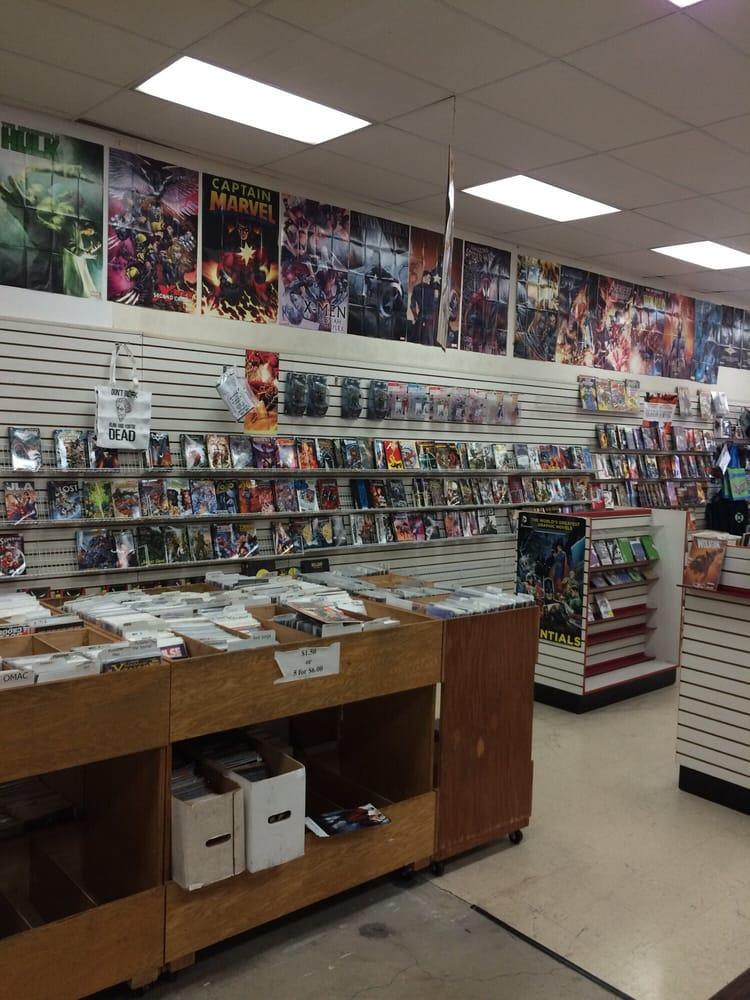 Stand-Up Comics: 10020 San Pablo Ave, El Cerrito, CA