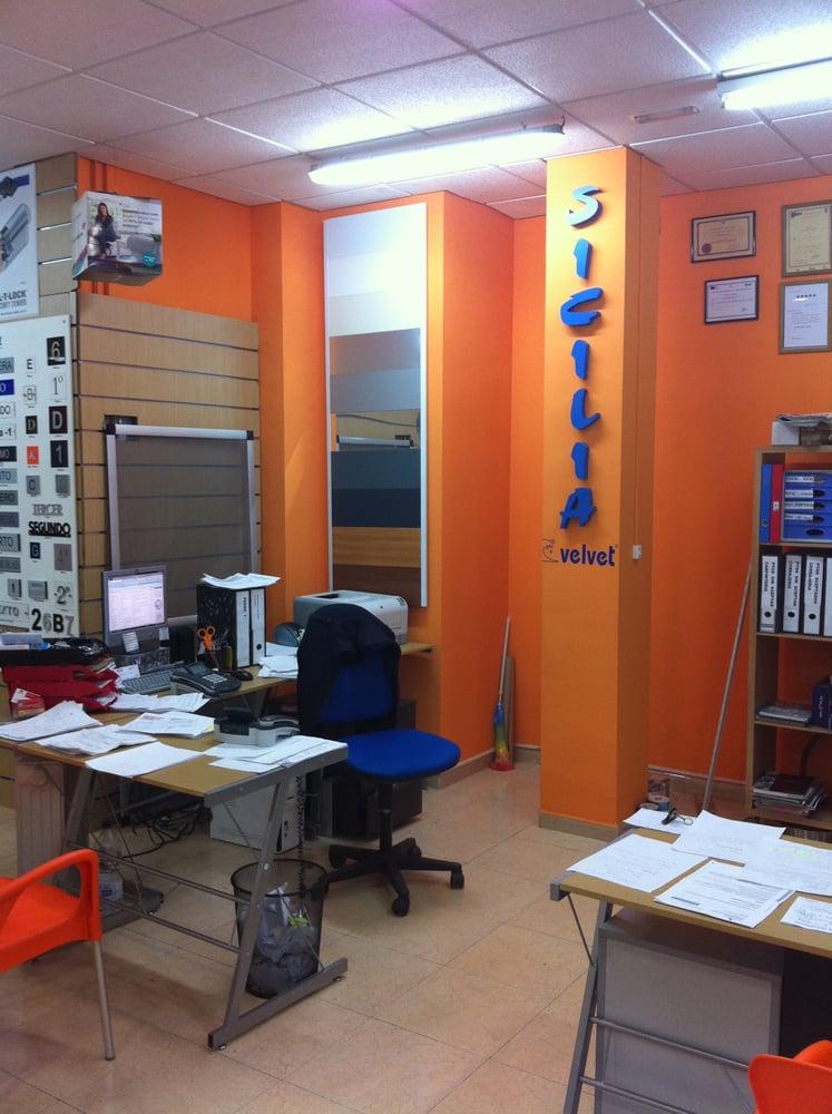 cerrajeria y aluminios sicilia: avda. central de sant antonio 16, Barcelona, B