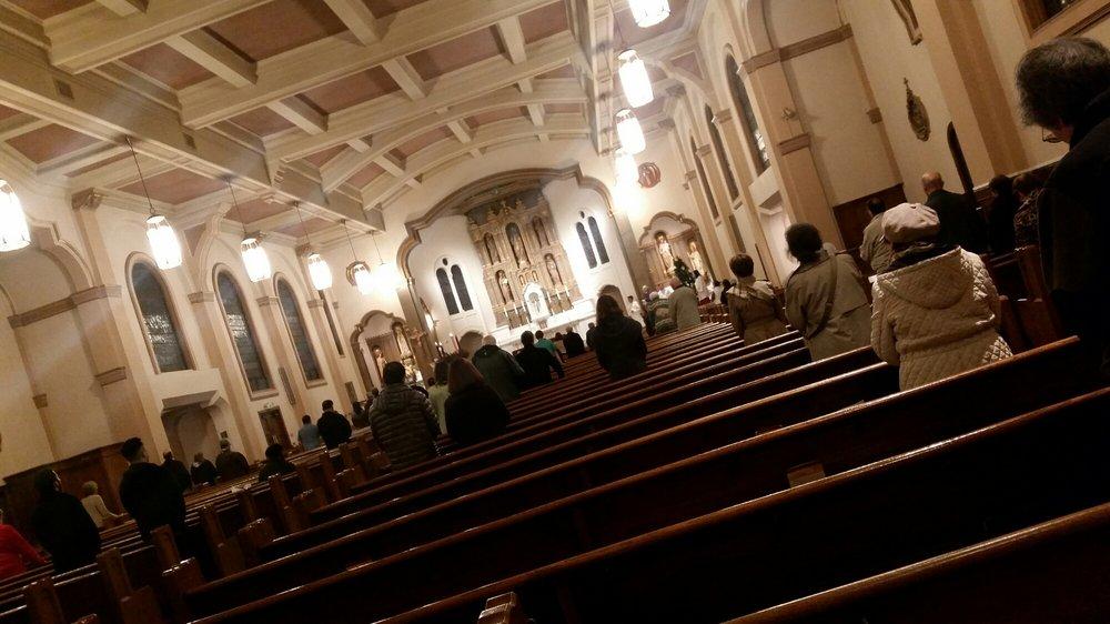 Saint Monica's Church: 5920 Geary Blvd, San Francisco, CA