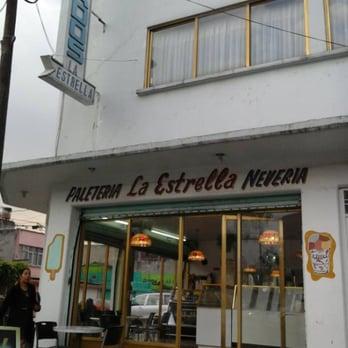 Paleteria La Estrella Helados Y Yogurt Helado Avenida Tesoro 120