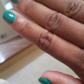 Photo of Paul Nail Spa - Suitland, MD, United States. Gel fill in