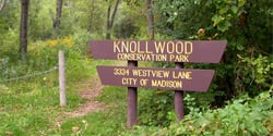 Knollwood Conservation Park: 3334 Westview Ln, Madison, WI