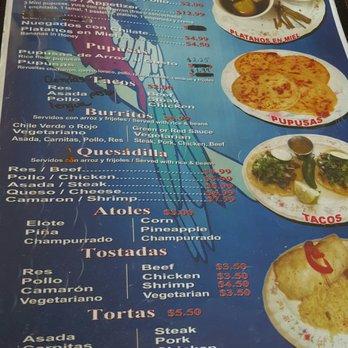 Photo Of El Salvador Restaurant Reno Nv United States
