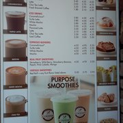New Drive Thru Photo Of Scooter S Coffee Rancho Cordova Ca United States Menu