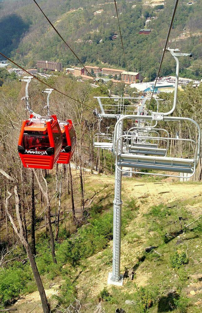 Photo Of Anakeesta   Gatlinburg, TN, United States. The Chairlift And  Gondolau0027s.