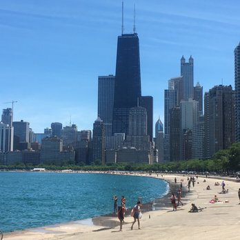 Photo Of Oak Street Beach Chicago Il United States