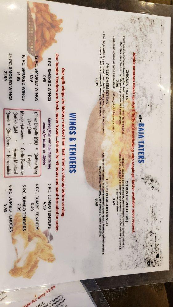 Baja Grill: 117 Fred Odle Dr, Lexington, TN