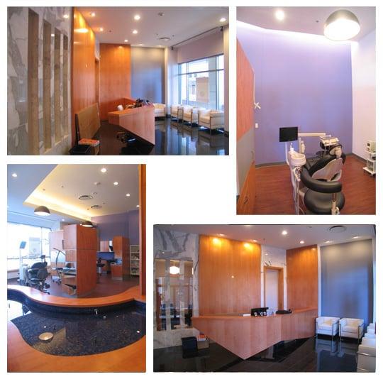 Dental office architecture interior design for Office 606 design construction llc